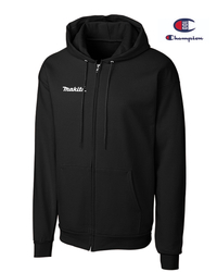 Full-Zip Hooded Makita Sweatshirt by Champion