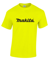 Short Sleeve High Visibility Makita T-Shirt by Gildan